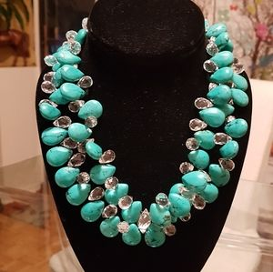 Gorgeous clustered beads and crystals